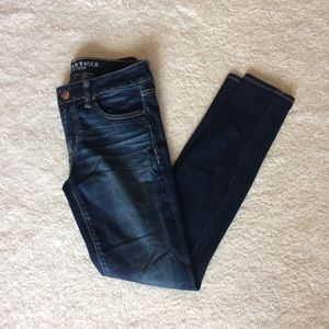 AE Super Low Rise Jeggings - Size 6